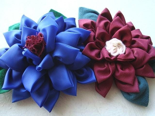 AWESOME MULTI-PETAL FLOWER, fabric flower tutorial, beautiful silky flower