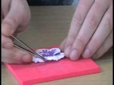 Build a Blossom Tutorial Pansy