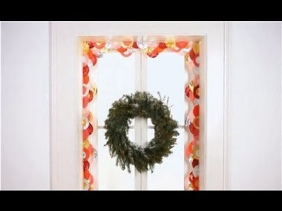 Christmas Decorating Ideas: DIY Cupcake Liner Garland