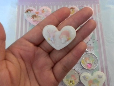 Craft Update: Sweet Lolita Style Pastel Resin Charms! (Watch In HD)