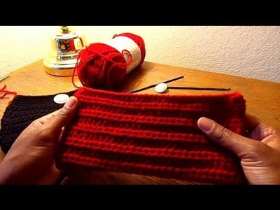 Crochet Clutch Tutorial :  GL Accessories