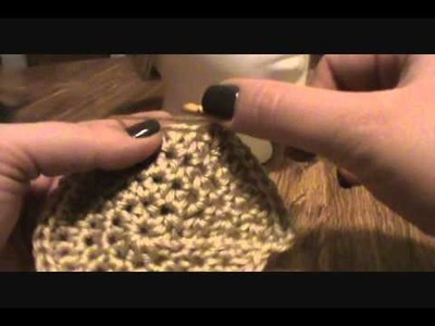 [Crochet Pattern Tutorial] HDC Turban Head Hugger (Video 2)