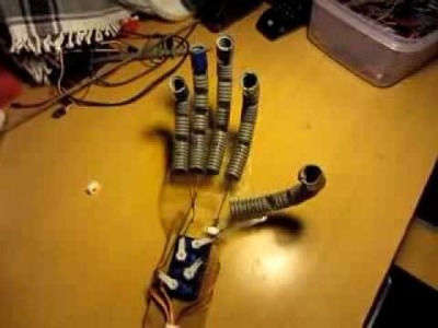 DIY Arduino Animatronic Robot Hand