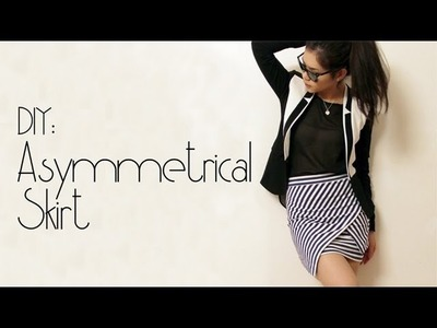 DIY: Asymmetrical Skirt