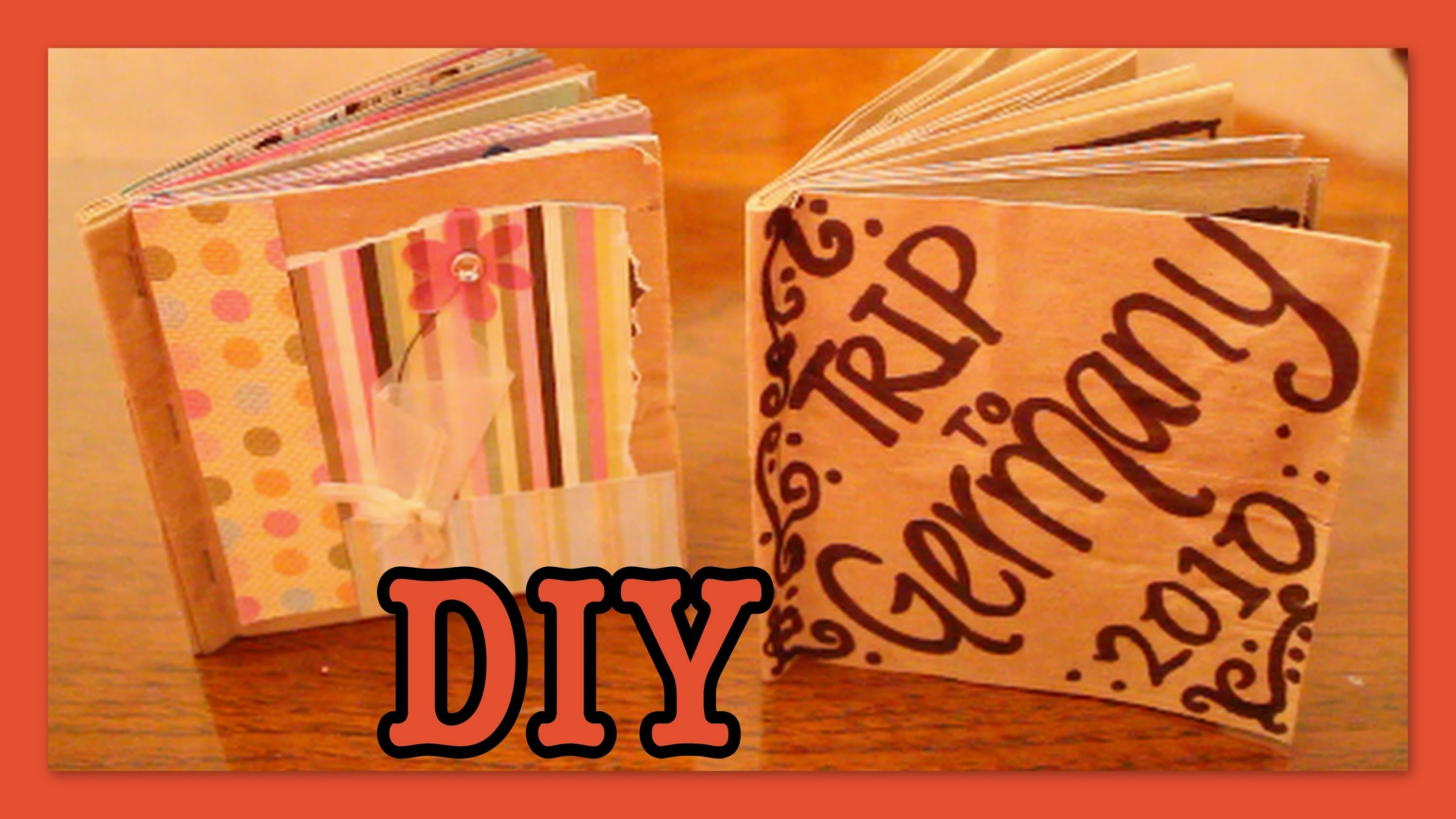 DIY: Brown Bag Album. Scrapbook