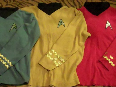 DIY Cheap and Easy Star Trek Costumes (TOS)