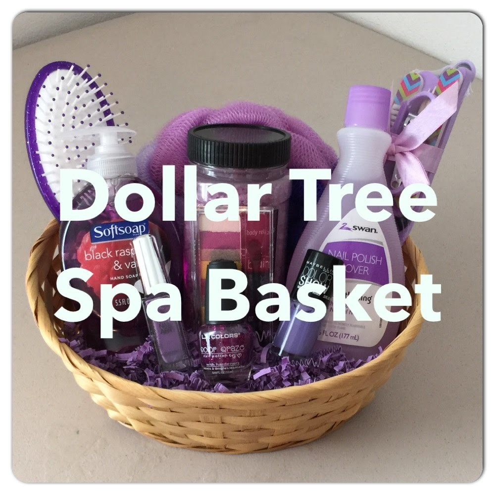 DIY Dollar Tree SPA Gift Basket! For Mother's Day, Valentines, Birthday, Any All Occasion!