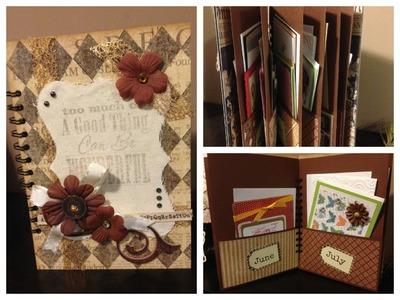 DIY Easy Greeting Card Organizer