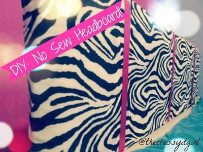 DIY Headboard- No Sew!