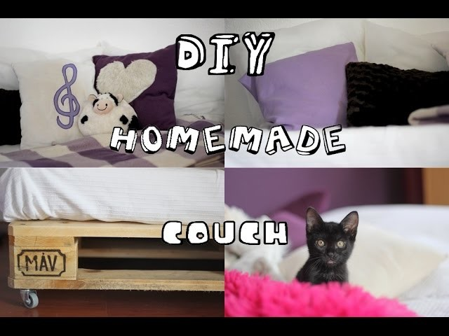 DIY: homemade couch