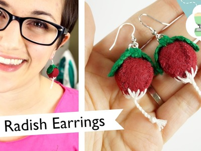 DIY Luna's Radish Earrings (collab with NerdECrafter)