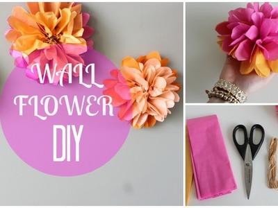 DIY Paper Wall Flowers!!