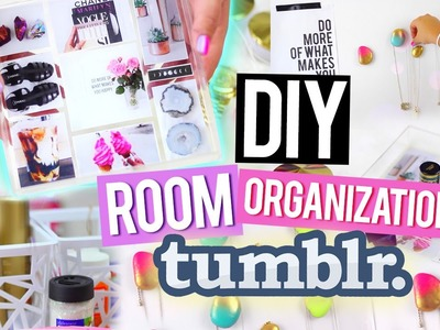 DIY Room Organization for Cheap ♥ Tumblr Inspired Decor