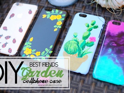 DIY Sharpie Paint Cellphone Case - Best Fiends | ANNEORSHINE