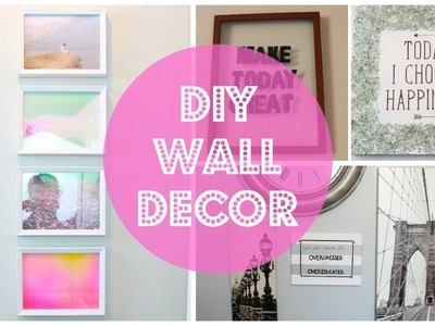 DIY Wall Decor (EASY & CHEAP)