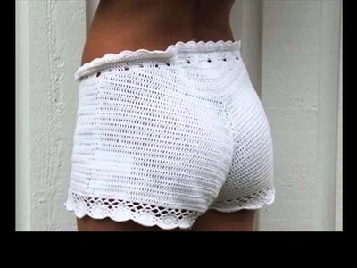 Easy crochet shorts tutorial