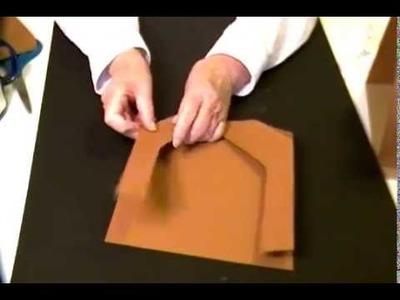 Easy to make paper Nativity Scene