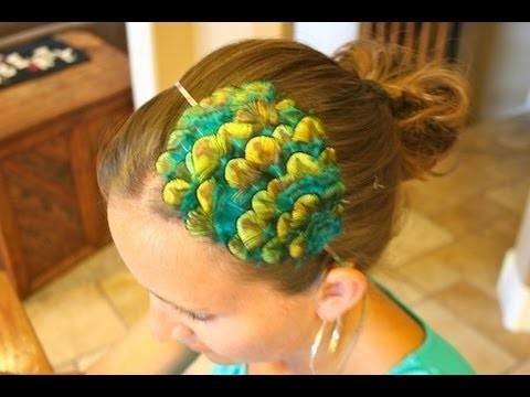 Feather Headbands DIY | Hair Accessories | Cute Girls Hairstyles