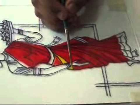 GLASS PAINTING PART 3 BY SHILPKRUTI GROUPS