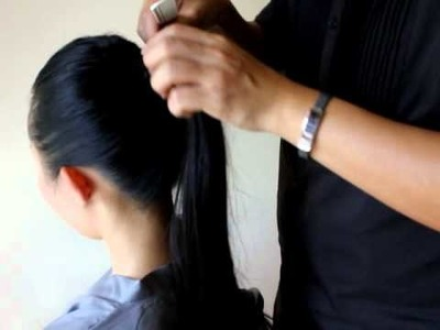 Glitz Channel Ep 8: How to tie the Power Ponytail