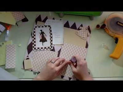 How To Use Cards or Gifts In Scrapbook Layouts