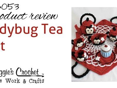 Ladybug Tea Set - Product Review PB053