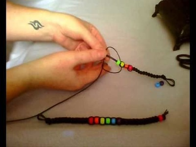 Leather Kandi Bracelet Tutorial
