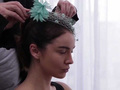 Mimco Spring Racing Carnival 2012 - Ms. Monroe Headpiece with Kevin Murphy