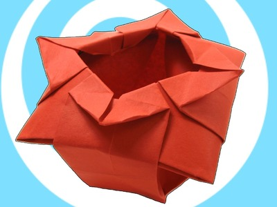 Origami Chinese Vase (Verdi's Vase) Instructions
