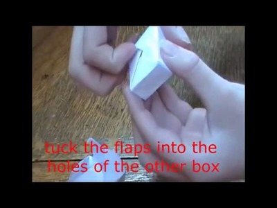 Origami How to Make A Gift Box Cube