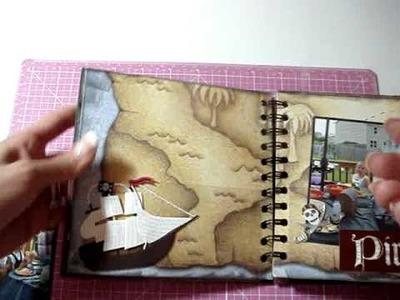 Pirate Mini Scrapbook Album