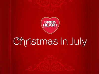 Red Heart's Christmas in July Patterns