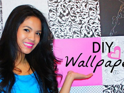 Room Decor: DIY Wallpaper! - Belinda Selene