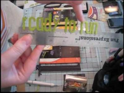 Scrapbook Mini Album: Custom Word Book, Part Three
