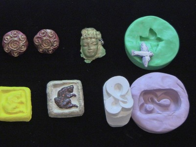 Simple Mold Making for Paper Jewelry