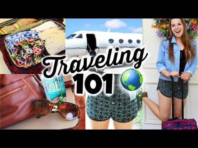 Travel.Airplane DIY Organization, Essentials & Outfits!