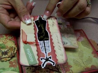 Travel Paper Bag Scrapbook