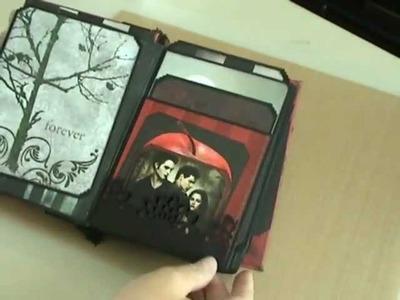 Twilight Mini Scrapbook and Christmas Mini Scrapbook