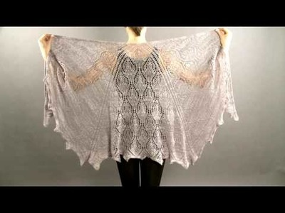 #10 Beaded Shawl, Vogue Knitting Holiday 2008