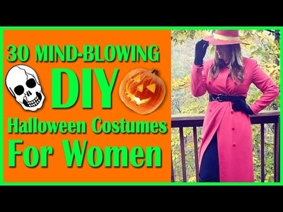 30 Mind-Blowing DIY Halloween Costumes For Women