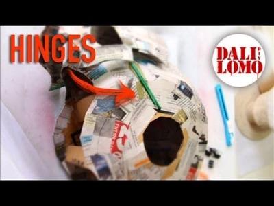 #99: Ant-man Helmet DIY 2 - Faceplate Hinges (wire coat hanger)