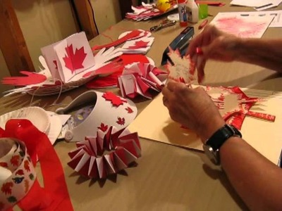 Canada Day Arts and Crafts - Nans Crafts Episode 6