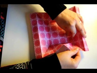 Carte origami Stampin'up