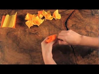 Craft Club's Tube Menorah Craft Video