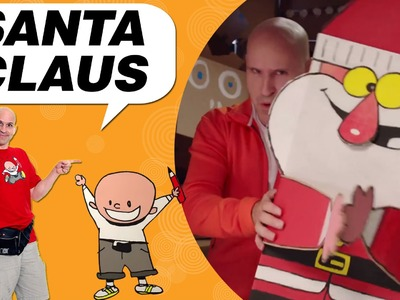 Craft Ideas with Boxes - Santa Claus | DIY on BoxYourSelf