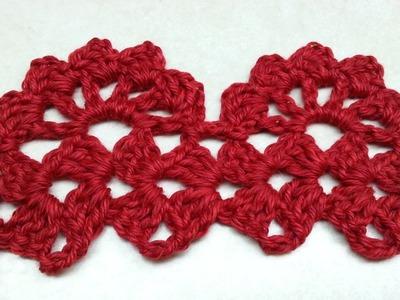 #Crochet Neapolitan Lacy Edge Stitch #TUTORIAL