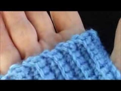 Crochet wrist warmer instructions