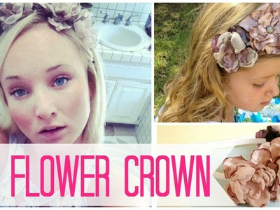 DIY Coachella Flower Headband | by Michele Baratta