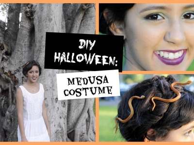 DIY Halloween: Medusa Costume + Hair + Makeup
