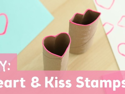 DIY Heart & Kiss Stamps | Valentine's Day DIY